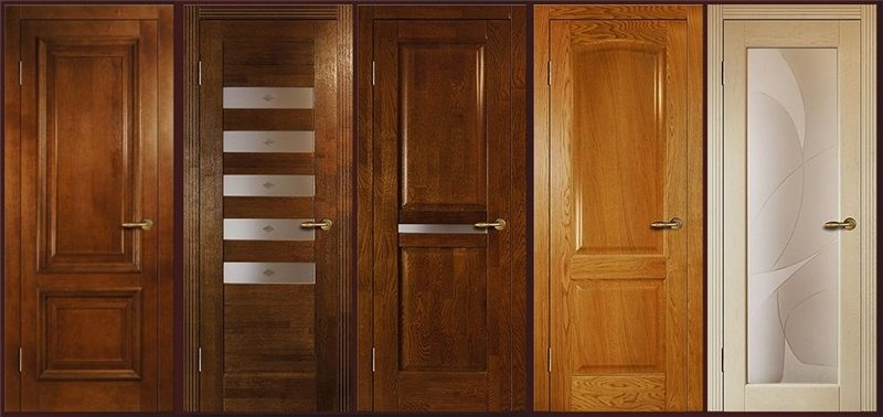 Разновидности межкомнатных дверей: массив, мдф, экошпон и пвх