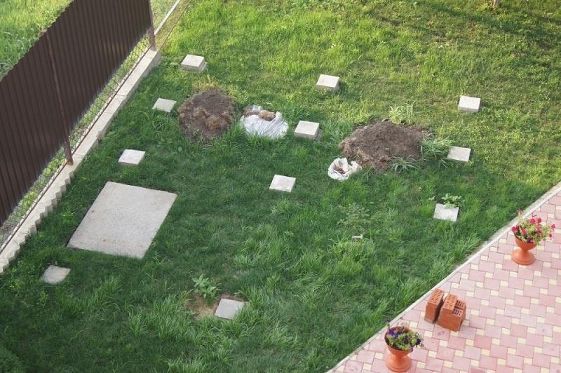 Строительство садовой беседки - фото 4