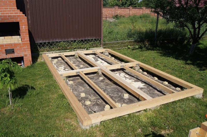Строительство садовой беседки - фото 6