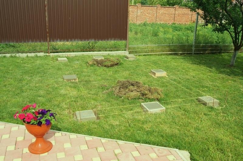 Строительство садовой беседки - фото 2