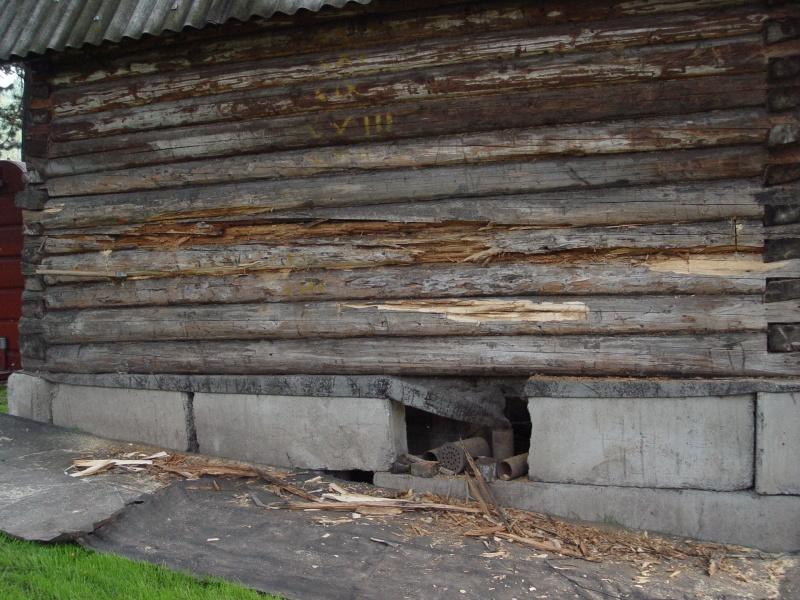 Загородная баня из старого сруба - фото 2