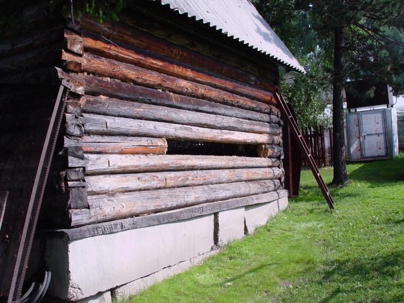 Загородная баня из старого сруба - фото 4