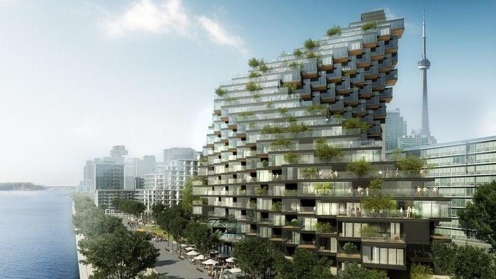 Оригинальный архитектурный проект для Торонто