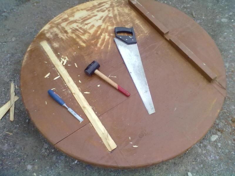 Реставрация-модернизация столика. - фото 3