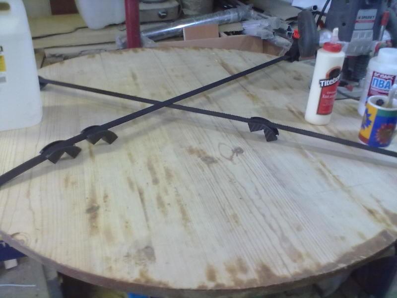 Реставрация-модернизация столика. - фото 6