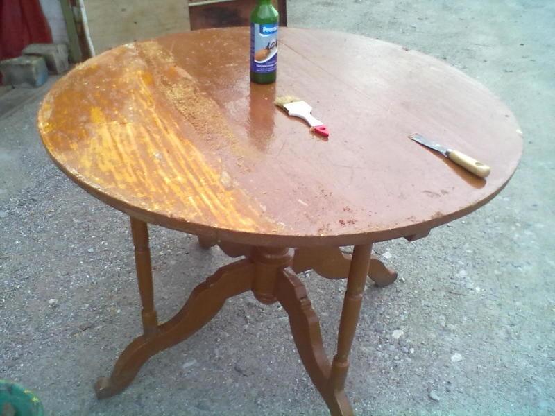 Реставрация-модернизация столика. - фото 1