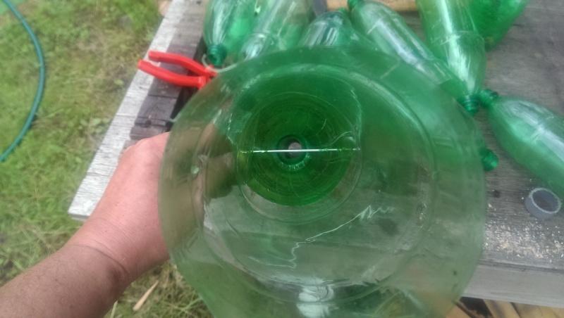 Бюджетный вариант водосточной трубы - фото 8