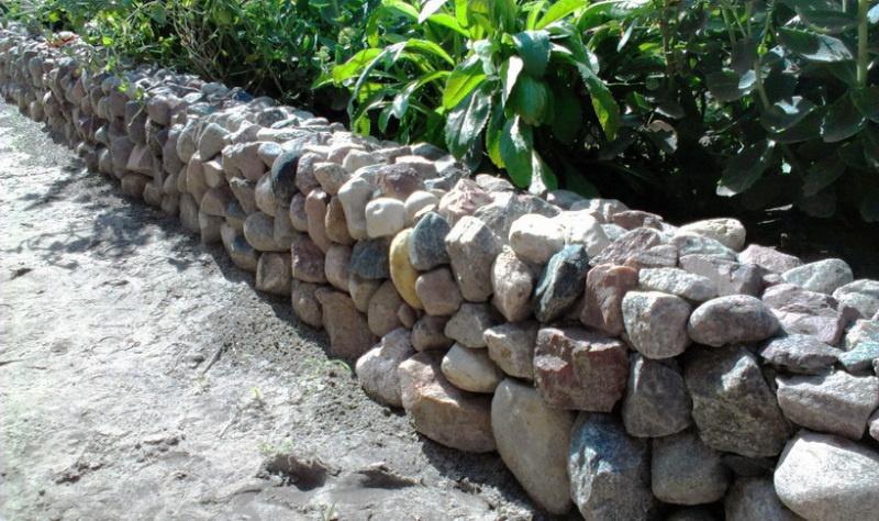 Подпорная стенка из камня - фото 5