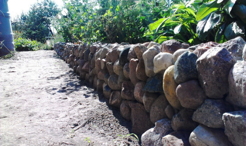 Подпорная стенка из камня - фото 3