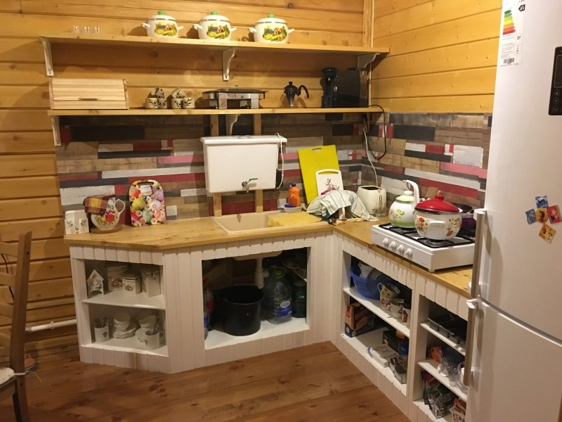 Строим кухню своими руками - фото 10