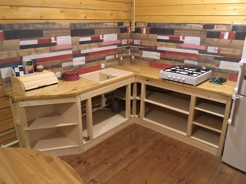 Строим кухню своими руками - фото 7