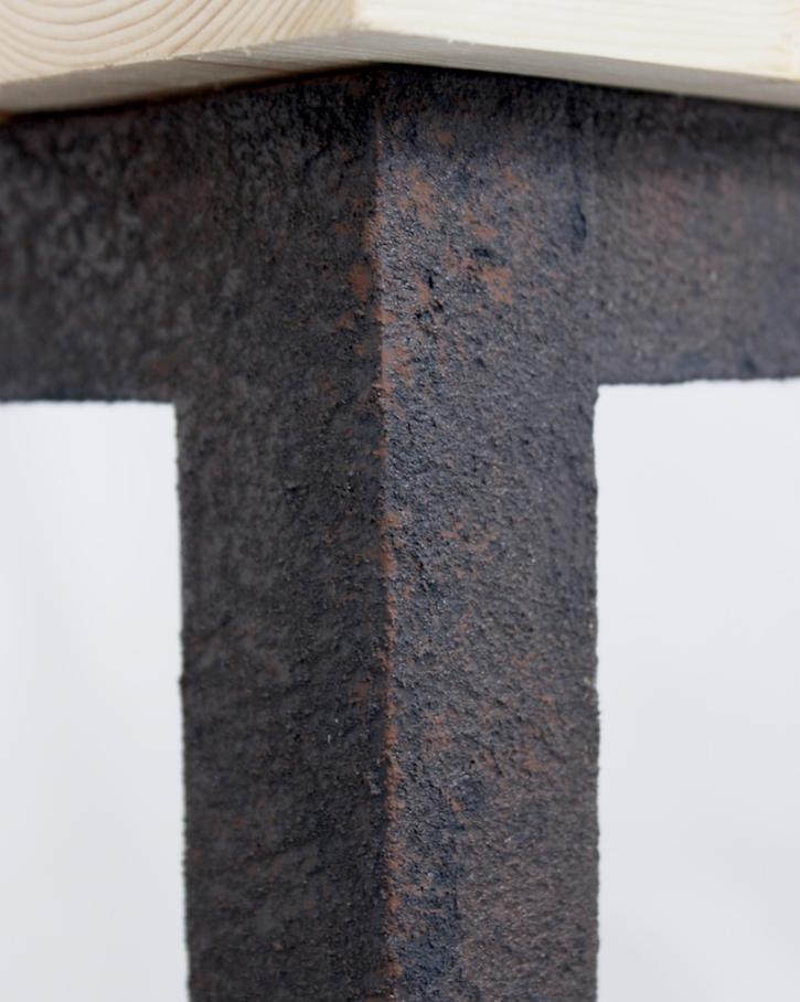 Тумбочка из деревянных обрезков - фото 8