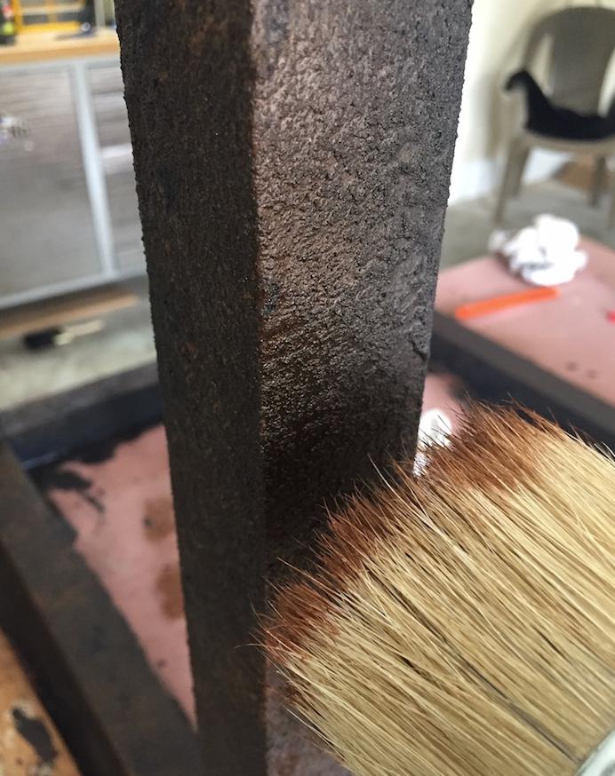Тумбочка из деревянных обрезков - фото 11