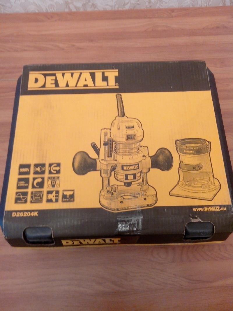 Обзор фрезера DeWALT D26204K - фото 1