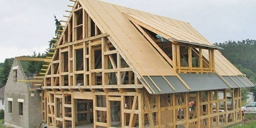 Строительство каркасного дома: пошаговая инструкция