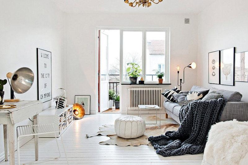 Интерьеры в скандинавском стиле - фото 12