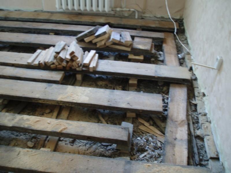 Бюджетный пол в старых домах - фото 5