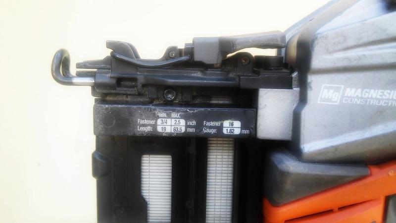 Аккумуляторный нейлер RIDGID/AEG 16GA 18v с бесщеточным двигателем - фото 2