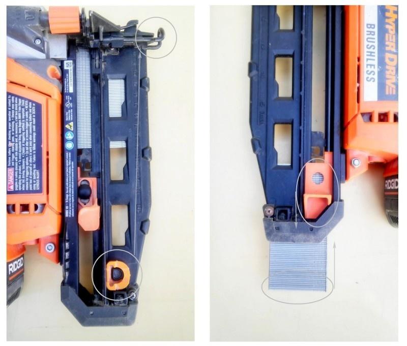 Аккумуляторный нейлер RIDGID/AEG 16GA 18v с бесщеточным двигателем - фото 7
