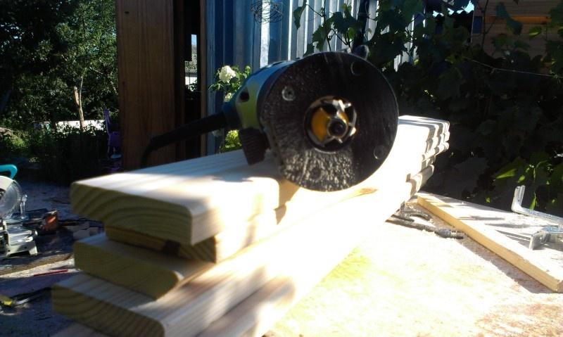 Летняя душевая на даче - фото 20