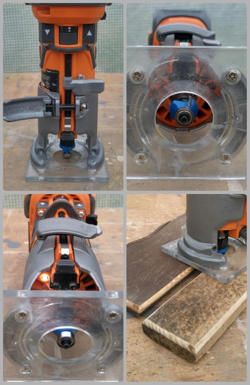 Обзор аккумуляторного кромочного фрезера AEG BOF 18 BL/ Ridgid 18V Brushless Compact Router  R86044B - фото 4