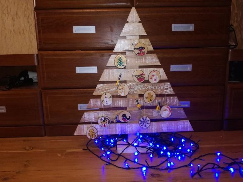 Новогодняя елка своими руками (DIY ideas) - фото 1