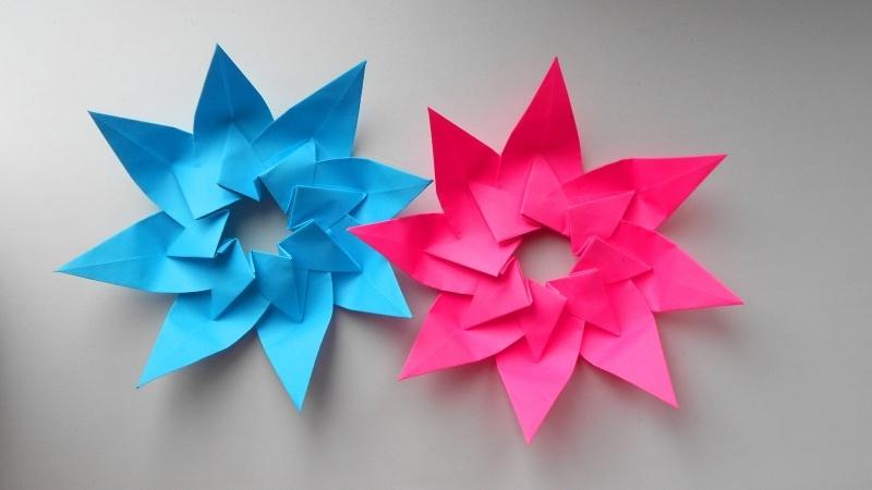 Новогодняя звездочка оригами как сделать, Новый год - 2019 рекомендации