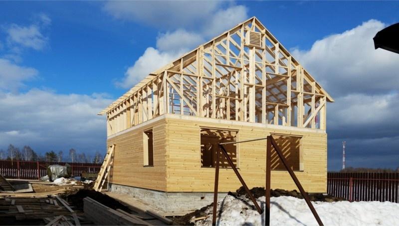 Строительство домов зимой – можно ли строить брусовой или каркасный дом: мифы и преимущества - фото 7