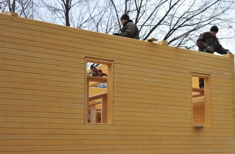 Строительство домов зимой – можно ли строить брусовой или каркасный дом: мифы и преимущества - фото 6