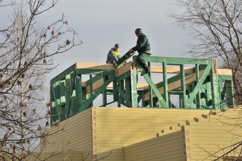 Строительство домов зимой – можно ли строить брусовой или каркасный дом: мифы и преимущества - фото 8