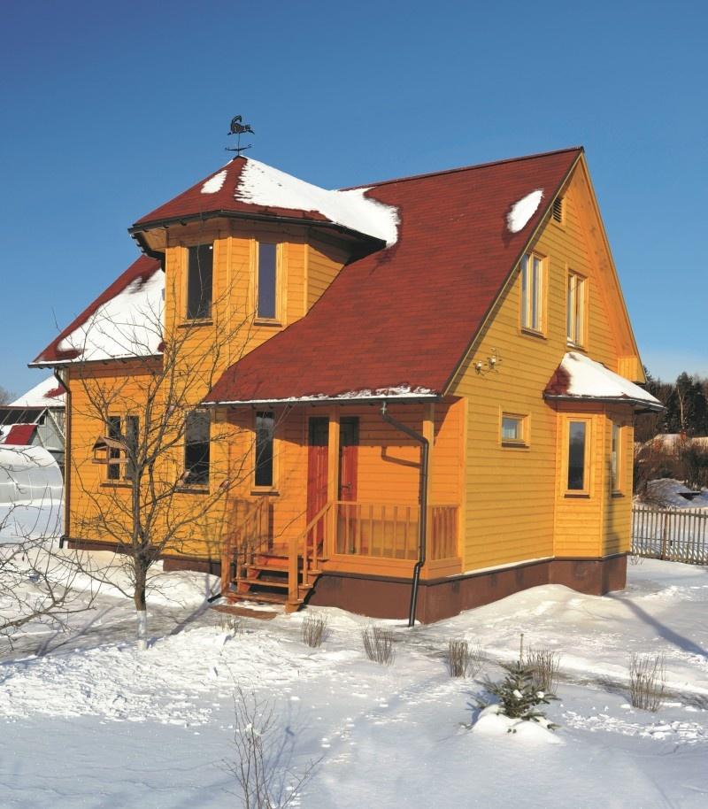 Строительство домов зимой – можно ли строить брусовой или каркасный дом: мифы и преимущества - фото 11