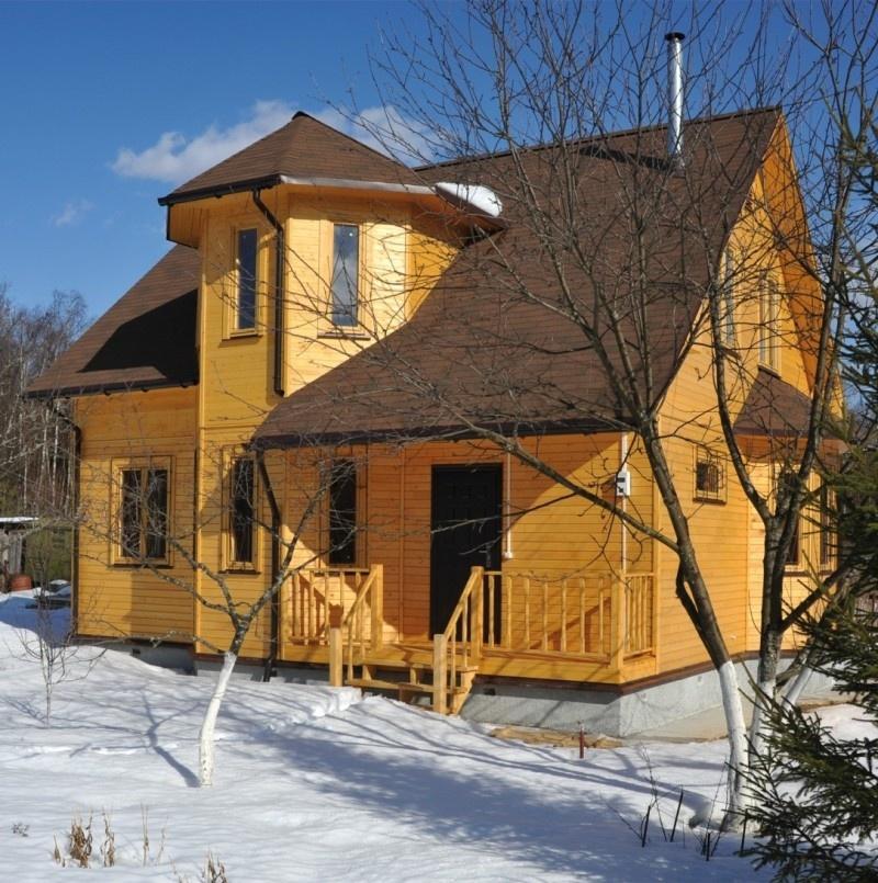 Строительство домов зимой – можно ли строить брусовой или каркасный дом: мифы и преимущества - фото 13