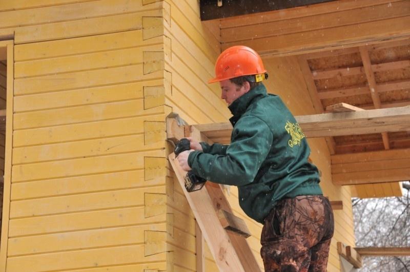 Строительство домов зимой – можно ли строить брусовой или каркасный дом: мифы и преимущества - фото 9