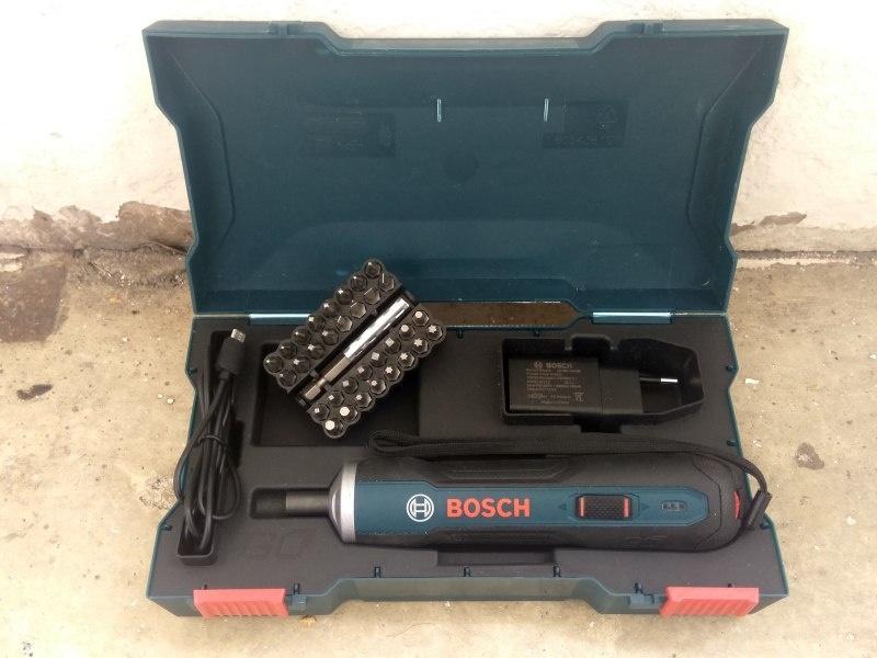 Об интеллектуальной электроотвёртке Bosch GO - фото 2