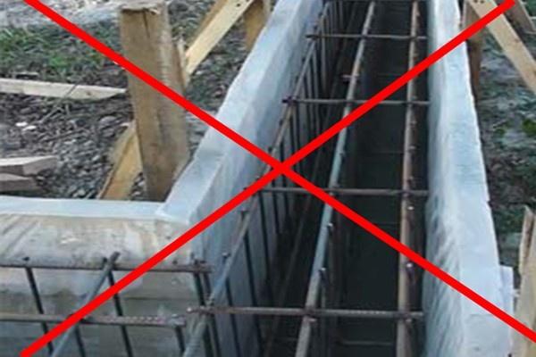 Ошибки при закладке фундамента и пути решения - фото 4