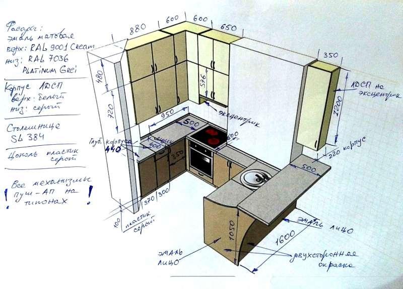 Кухня – платиновая красотка. - фото 9