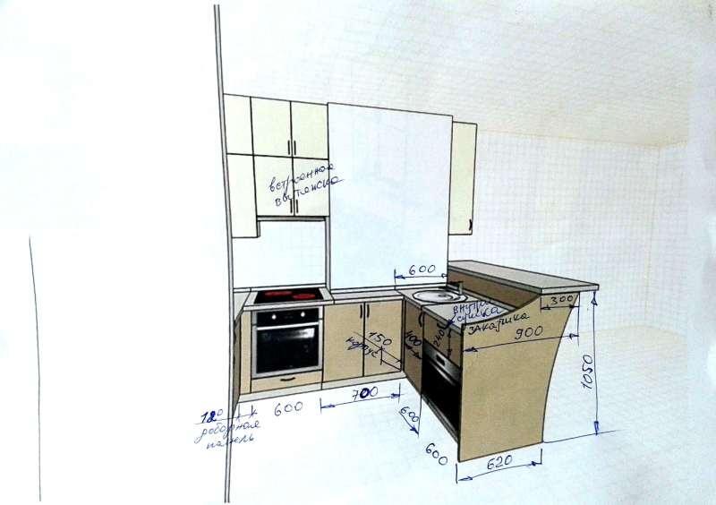 Кухня – платиновая красотка. - фото 8