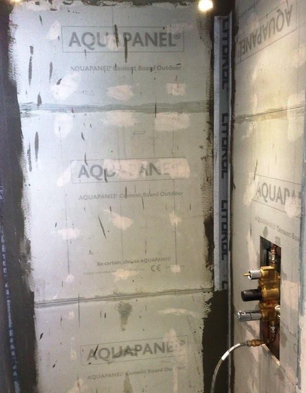 Душевая кабина в деревянном доме  - фото 9
