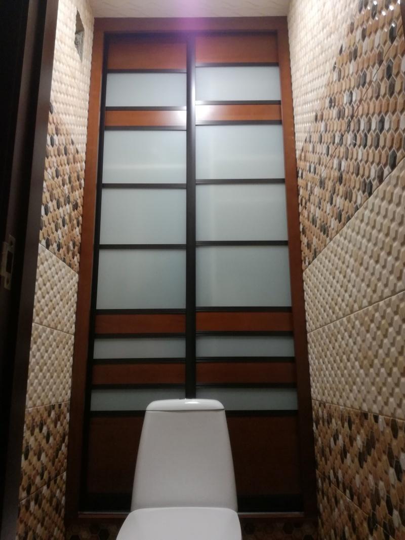 Дверь-экран в санитарный узел - фото 1