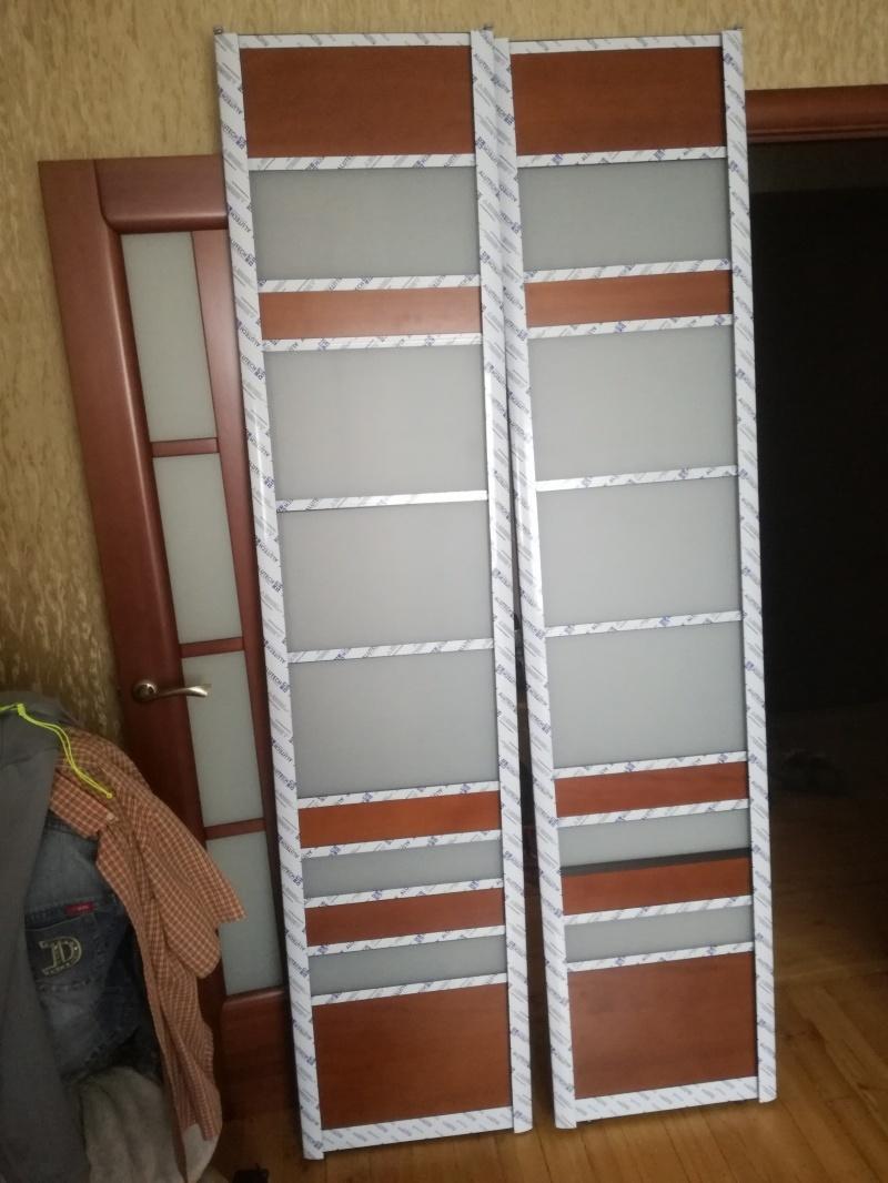 Дверь-экран в санитарный узел - фото 14