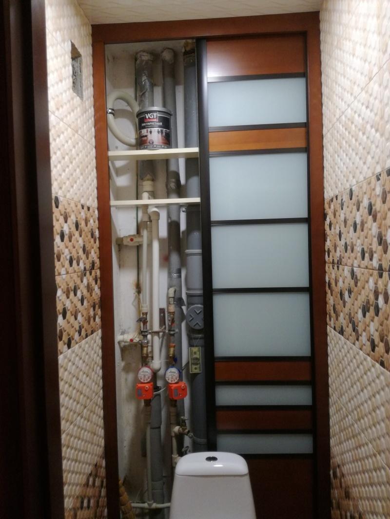 Дверь-экран в санитарный узел - фото 15