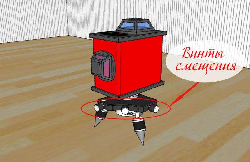 Проверка точности 3D лазерного уровня - фото 13