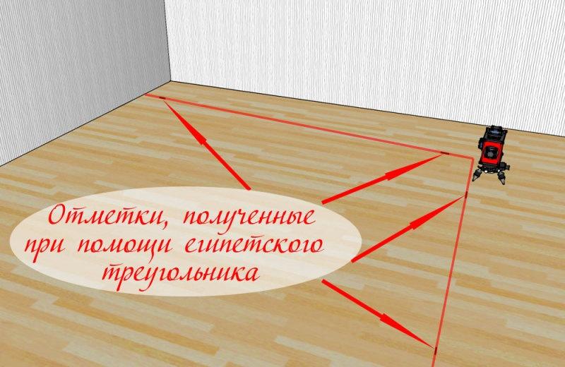 Проверка точности 3D лазерного уровня - фото 17