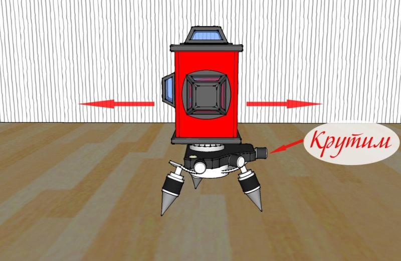 Проверка точности 3D лазерного уровня - фото 14
