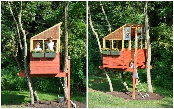 Детские дома на деревьях - фото 2