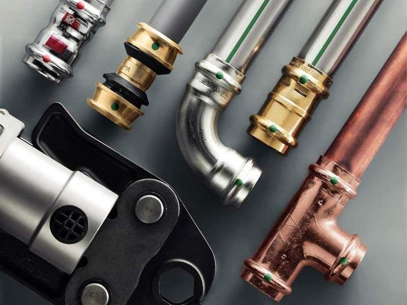 Металлические трубы и пресс-фитинги для систем отопления и водоснабжения: особенности, преимущества, монтаж - фото 2