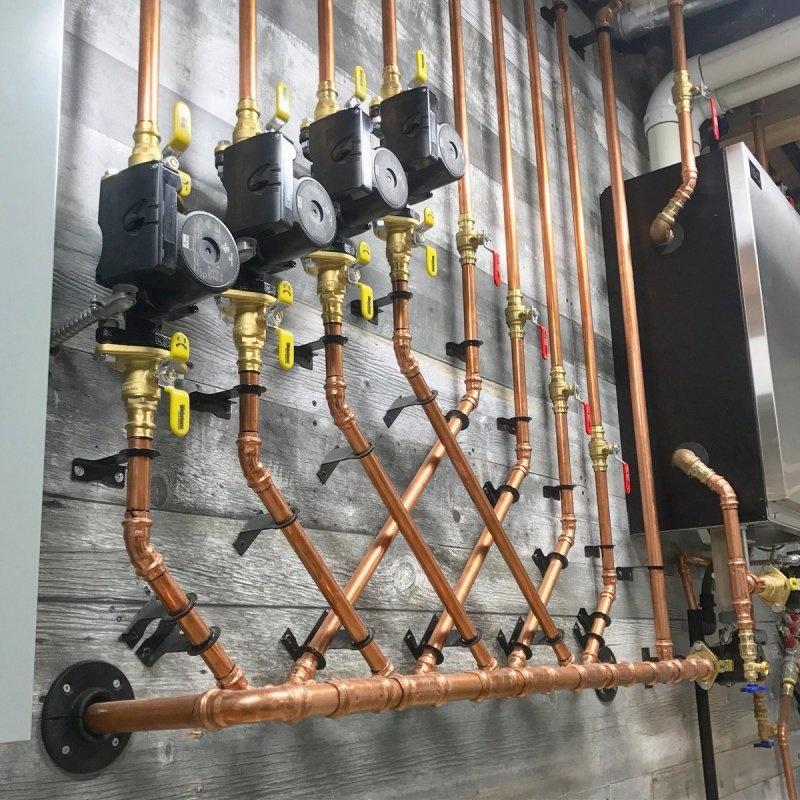 Металлические трубы и пресс-фитинги для систем отопления и водоснабжения: особенности, преимущества, монтаж - фото 8