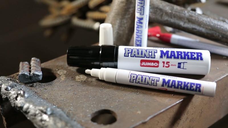 Маркер-краска: легко убрать сколы, царапины. Отличная вещь для ремонта и стройки   - фото 1