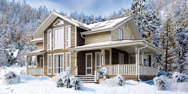 Каким должен быть теплый дом из клееного бруса - фото 2