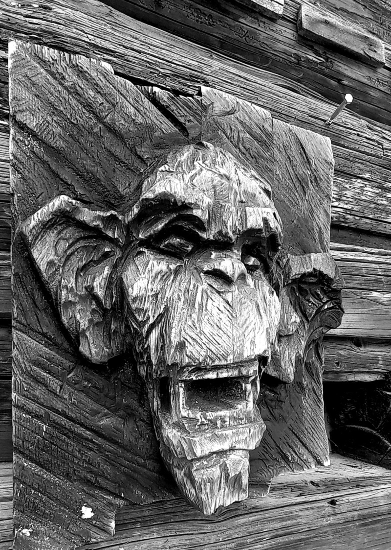 Деревянная скульптура.Резьба бензопилой. - фото 8